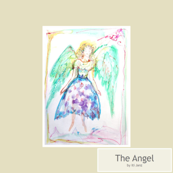 The Angel by iti Janz