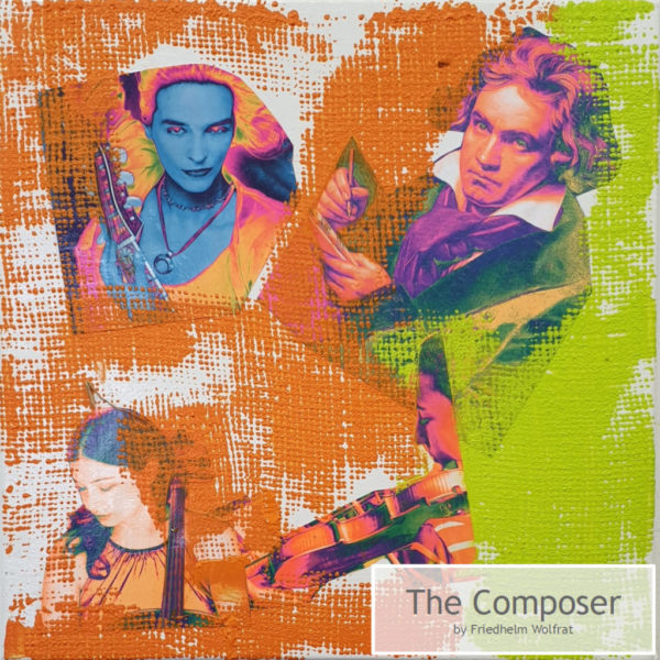 The Composer by Friedhelm Wolfrat