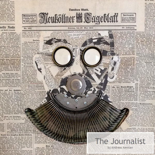 The Journalist by Andreas Kerstan